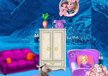 Elsa baba szobája