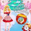 Hercegnős karácsonyi képeslap készítés