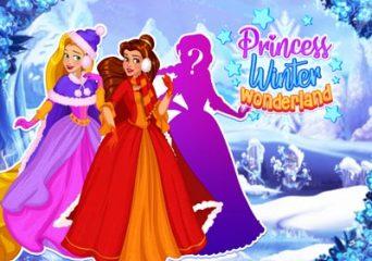 Hercegnő téli öltöztetős