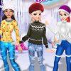 Téli hercegnő öltöztetős