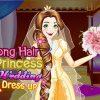 Hercegnő esküvői ruha öltöztetős